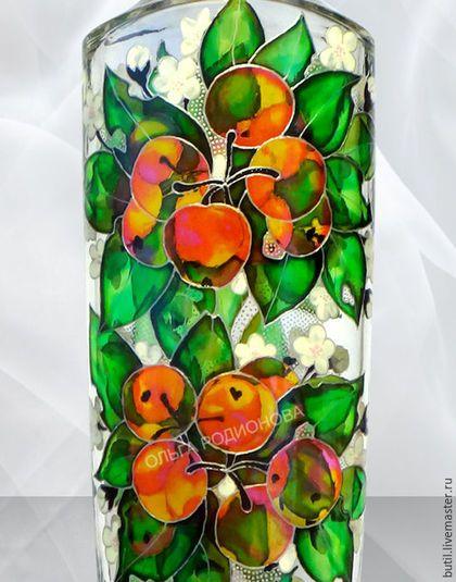 Купить или заказать Бутылка 'Три времени года' в интернет-магазине на Ярмарке Мастеров. Волшебная бутылка 'Три времени года' может служить украшением любого интерьера и всегда будет замечена гостями. Её можно поставить на стол во время праздника, налив в нее напиток (крепкий или не очень), в ней можно хранить напитки (есть плотная корковая пробка, сделанная специально для нее), и она может создать романтическую обстановку, если использовать ее как светильник или ночник с…