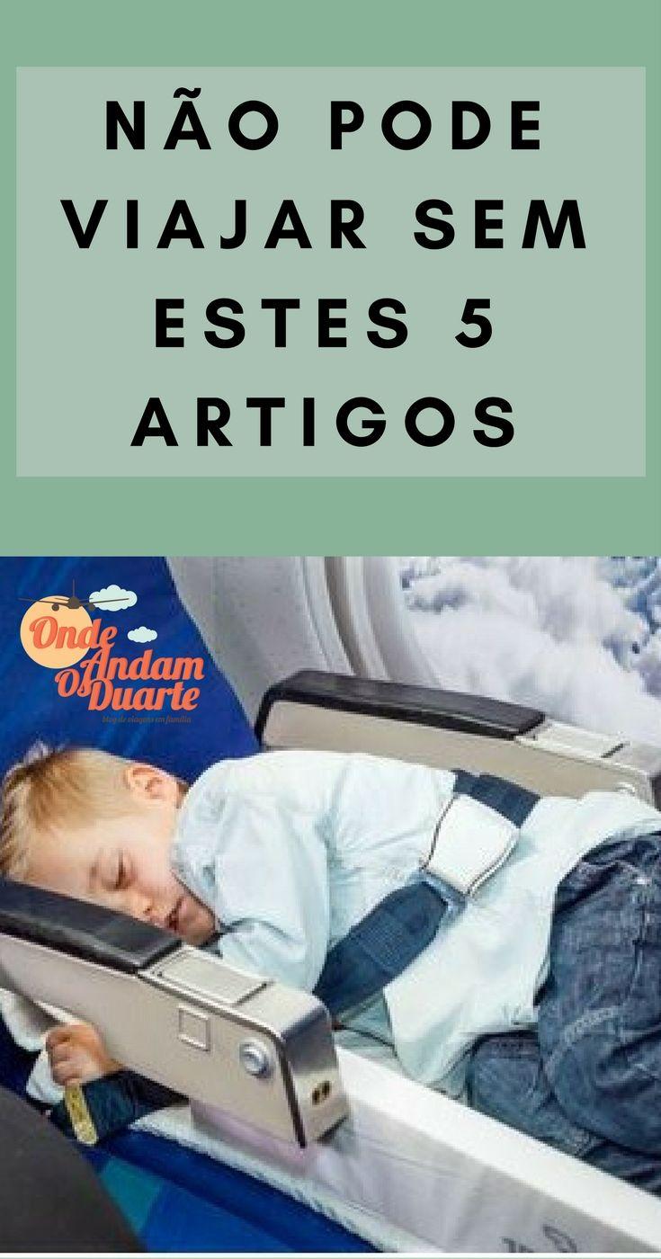 Há artigos de bebe e criança, que têmsó mais-valias para a viagem e que só facilitam. Vejam estes 5 artigos realmente úteis nas viagens de avião!