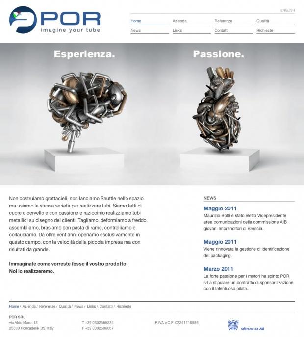 #Directo #Webdesign  Un'azienda di impiantistica idraulica di Brescia che ha puntato decisamente su un'immagine originale per la presentazione del proprio prodotto.  Sito realizzato in #SilverStripe.