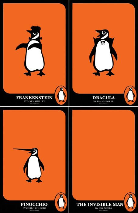 Penguin Book Cover Maker : Q hey penguin can you make these happen a from your