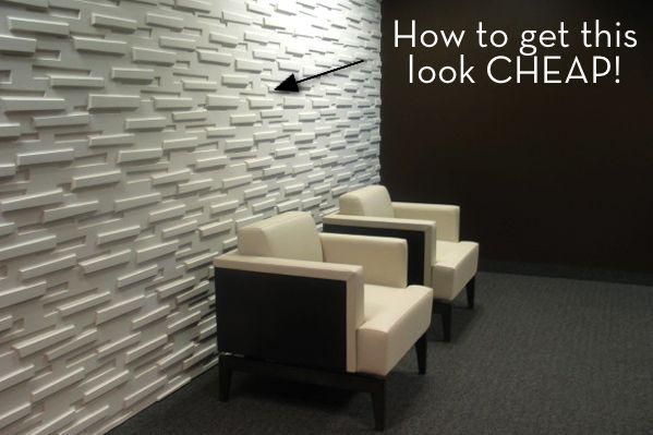 modern wall treatment ideas   credit: StarTribune [http://blogs2.startribune.com/blogs/newhouse/page ...
