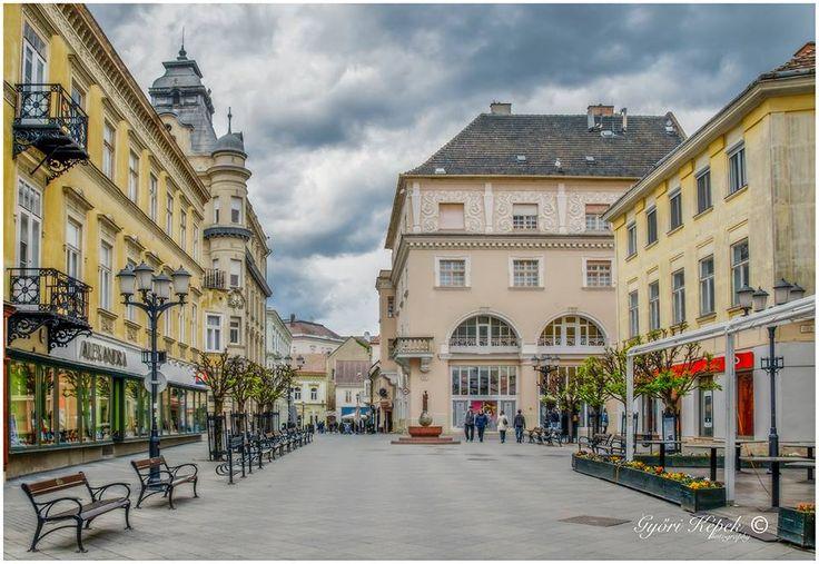 Győri városrészlet