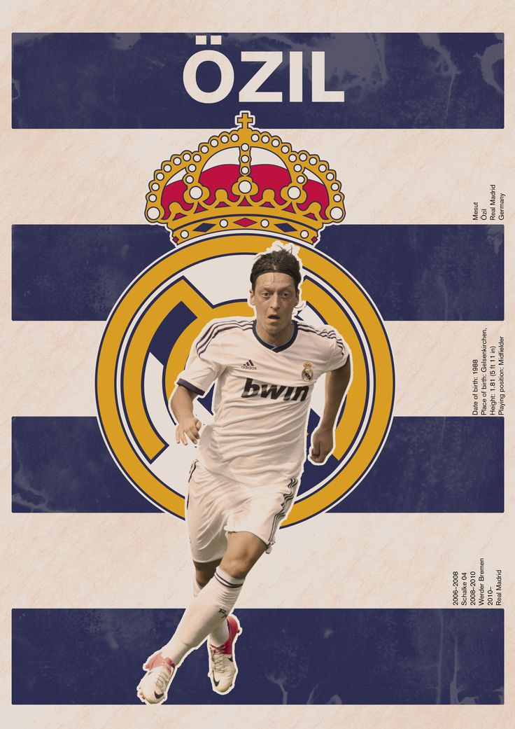 The Özil/Real Madrid poster