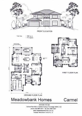 OUR DESIGNS — Meadowbank Homes