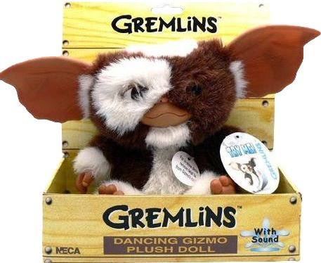 """Gremlins - Gizmo Singing and Dancing 9"""" Plush by NECA"""