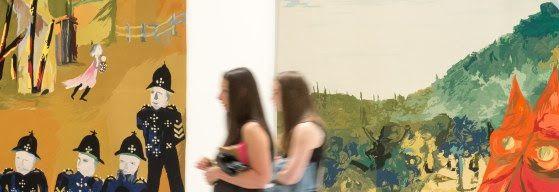 Bendigo Art Gallery, Victoria. Ned Kelly exhibition 2015.
