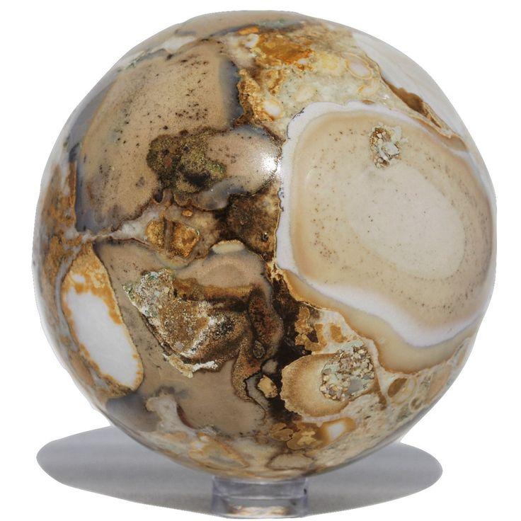 Ocean Jasper Sphere - Bella Rok - Finest Hand Selected Crystal , Stones and Minerals