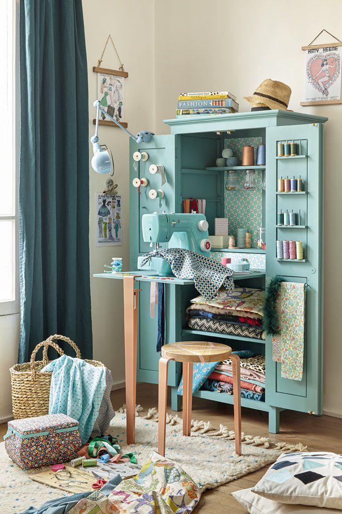 Fabriquer Un Bureau Multifonction Pour Les Couturieres Fabriquer Un Bureau Mobilier De Salon Meuble Couture