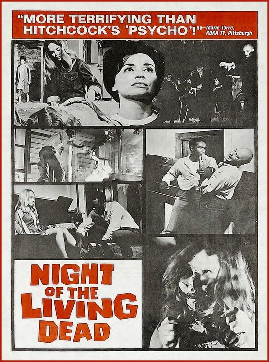 analyzing the shining and night of the living dead Night of the living dead is different from the film noir in many aspects and yet similarly it addresses societal issues, perhaps even more effectively.