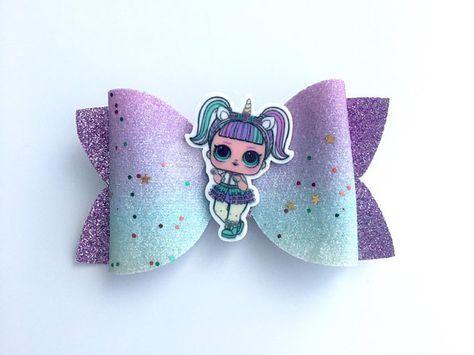 LOL Überraschungspuppe Einhorn Haarschleife Clips Haarschmuck   – Unicorn Hair