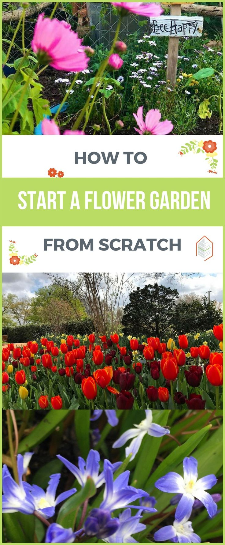 How To Start A Flower Garden From Scratch. If Youu0027re Looking How To