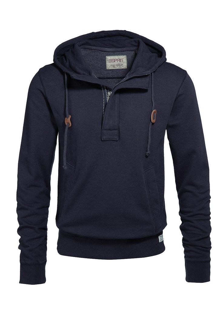 If you don'y get super cold in winter, an interesting sweater instead of a  hoodie or jacket is classy and easily fashionable. --Esprit Online-Shop ...