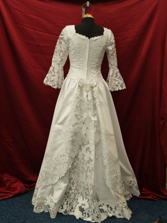 17 best images about bridal 1990 39 s on pinterest pattern for Have wedding dress made