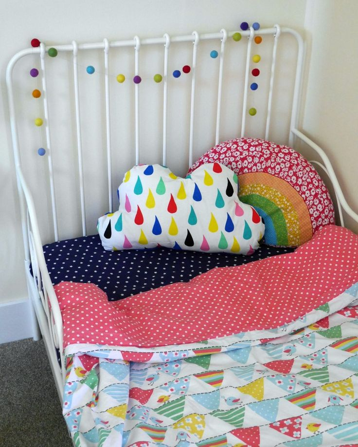 Frugi bedding - colourful and bright toddler bedding