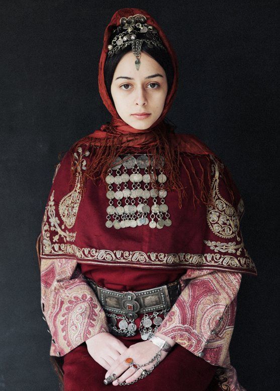 Armenian Costume with Headpiece