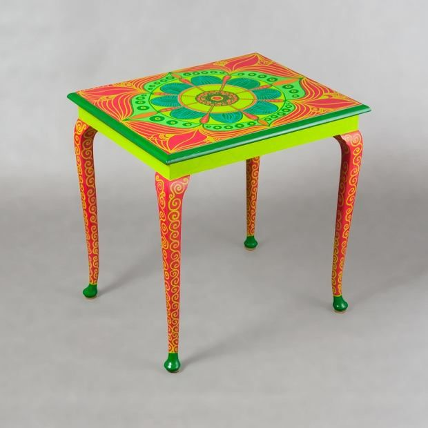 Zdjęcie numer 32 w galerii - Polski projekt: ręcznie malowane meble od Art PoPo