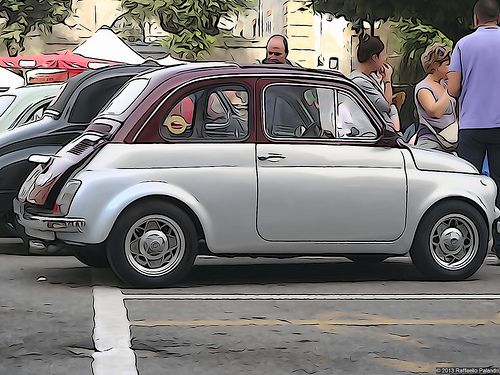 FIAT 500 model 695   I love this model. A friend of mine had one. Sleek and classy!