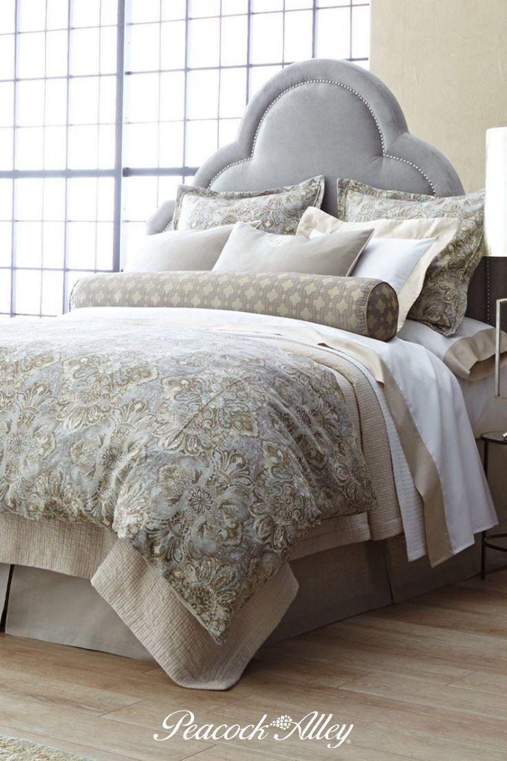 Baroque Linen Duvet Cover In 2019 Bed Bed Linen Design Linen Duvet