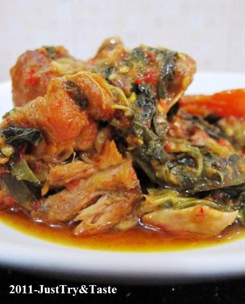 Just Try & Taste: Ayam Woku Belanga