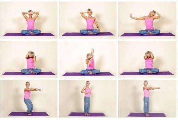 Расслабляем мышцы шеи   Сидячий образ жизни и частые стрессы приводят к постоянному напряжению мышц шеи. Чтобы это не стало причиной хронических головных болей и многих серьезных недугов, выполняйте упражнения для расслабления шейных мышц.  Испытывая стресс — напрягаясь, пугаясь или расстраиваясь — мы стремимся сжаться, подтягиваем плечи к ушам, сдавливая шейные позвонки. Длительное сидение в неправильной позе на рабочем месте неизбежно формирует искривление позвоночника. Поэтому каждое свое…
