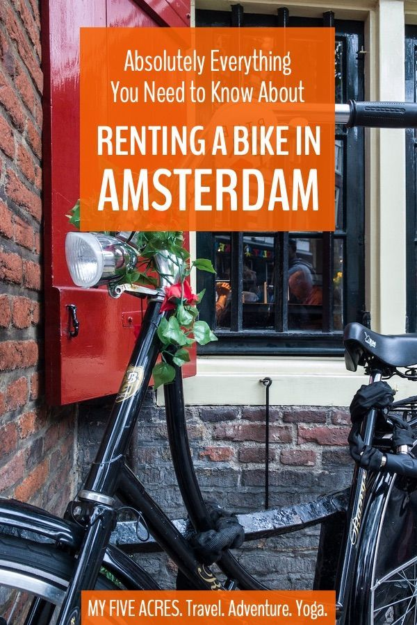 Amsterdam Bike Rental A First Timer S Guide Europe Travel