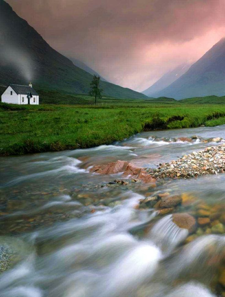 Glencoe, Scottish Highlands. Such a peaceful place ... now!