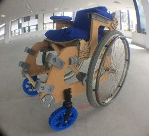 Meet HU-GO, the Open Source DIY Low-Cost Wheelchair with 3D Printed Parts