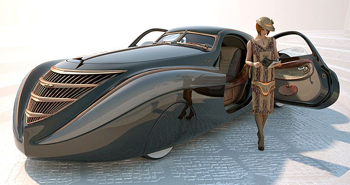 Carsthatnevermadeitetc Duesenberg Coupe Simone Midnight Ghost
