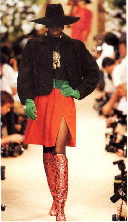 1989 - YSL show Repinned by www.fashion.net