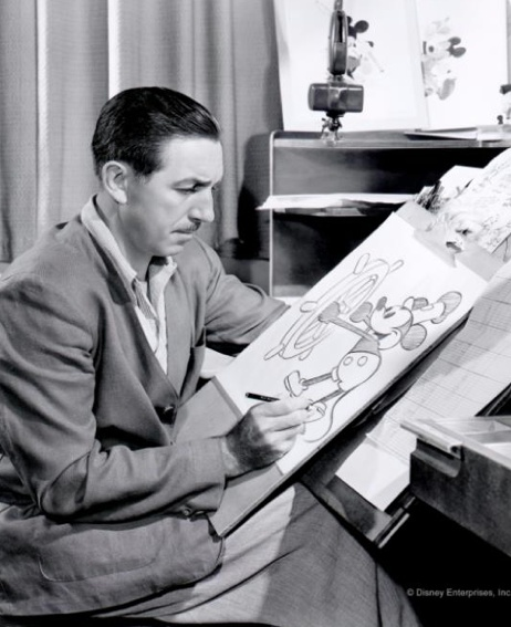 """Mickey was Walt, and Walt was Mickey."" - Animator Frank Thomas"