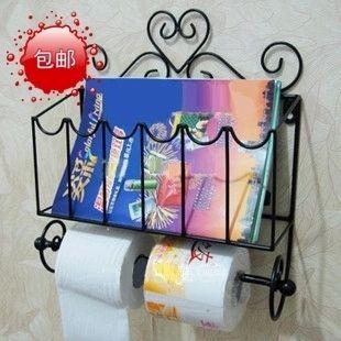 Пакет mail из кованого железа бумажных полотенец держатель туалетной бумаги Держатель туалетной бумаги коробки на туалетной бумаги рулон лоток рулона держатель туалетной бумаги держатель