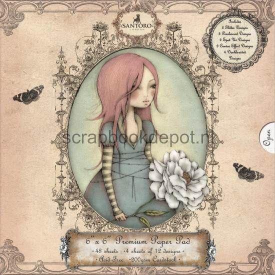 Santoro Mirabelle 3 6x6inch Paper Pad