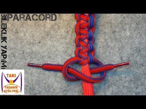 Paracord Bileklik Yapımı ( Ayarlı ) - Takı Tasarım Atölyesi - YouTube