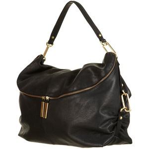 Black slouch bag
