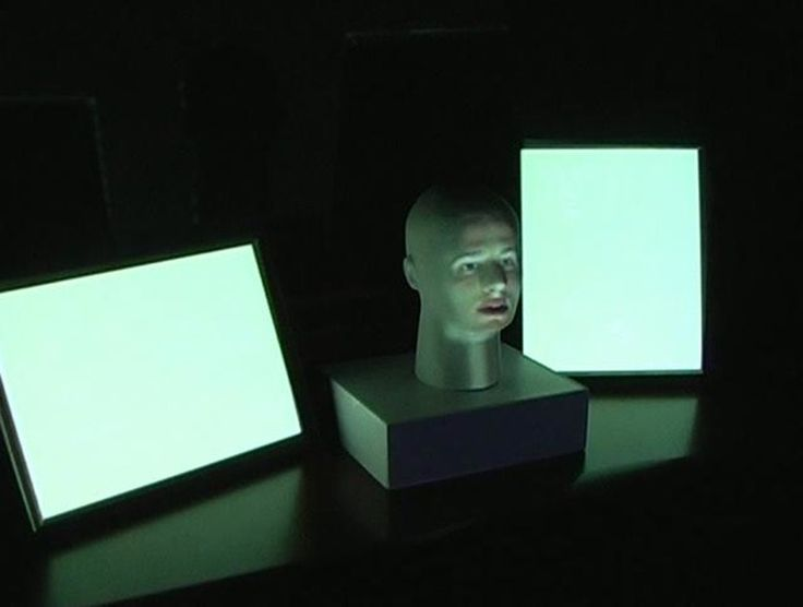 Facebook Stalking - Super creepy and hilarious projection mapping