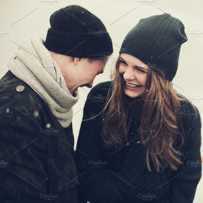 cute couple in love by Aleshyn Andrei on @creativemarket