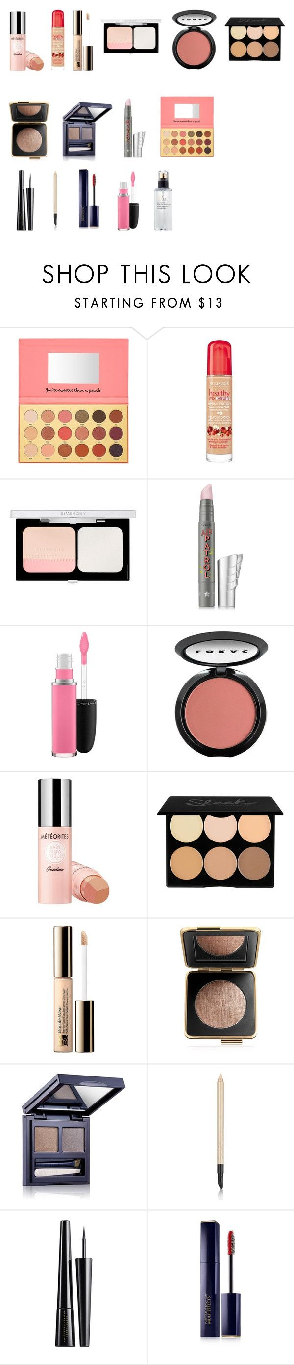 """MOTD"" by tyronewelle ❤ liked on Polyvore featuring beauty, Bourjois, Givenchy, MAC Cosmetics, LORAC, Guerlain and Estée Lauder"