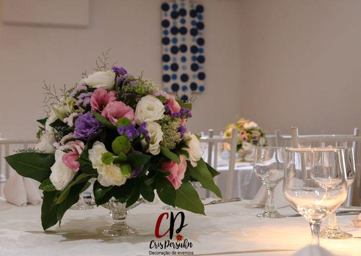 Centro de mesa para casamento #casamento #noiva #centrodemesa #arranjosflorais