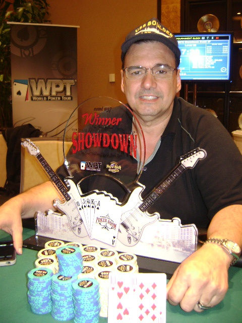 Congratulations to our rockin' WPT Seminole Hard Rock Hotel & Casino #Showdown Event #37 winner, Julio H., who won $4,246. You Rock!