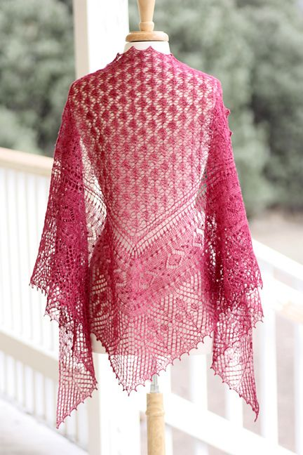 Ravelry Town Square Shawl Pattern By Rosemary Romi Hill