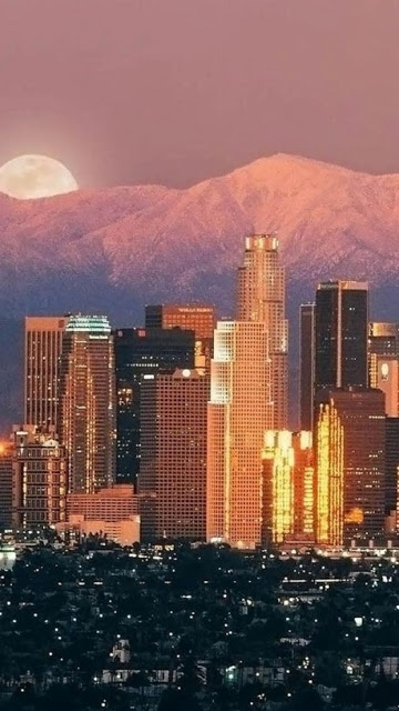 10 Stunning Images of Famous Cities Around The World (Part 1) , Los Angeles, California, USA