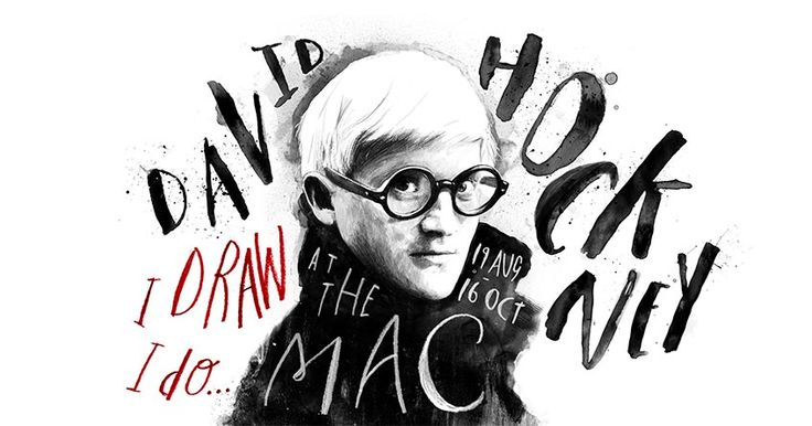 David Hockney's exhibition: I draw, I do in The Mac, Belfast