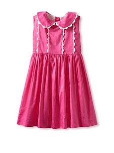 Rachel Riley Girls Scalloped Dress