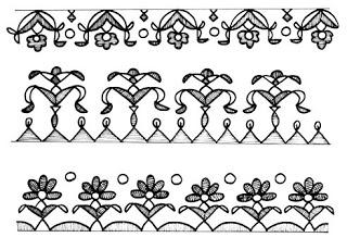 Waldorf ~ 5th grade ~ Ancient India ~ Border Designs ~ main lesson book