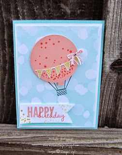Up, Up, and Away . . . Birthday by michvan3 - Cards and Paper Crafts at Splitcoaststampers