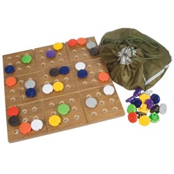 Braille Sudoku Puzzle Game with Board *repinned by WonderBaby.org