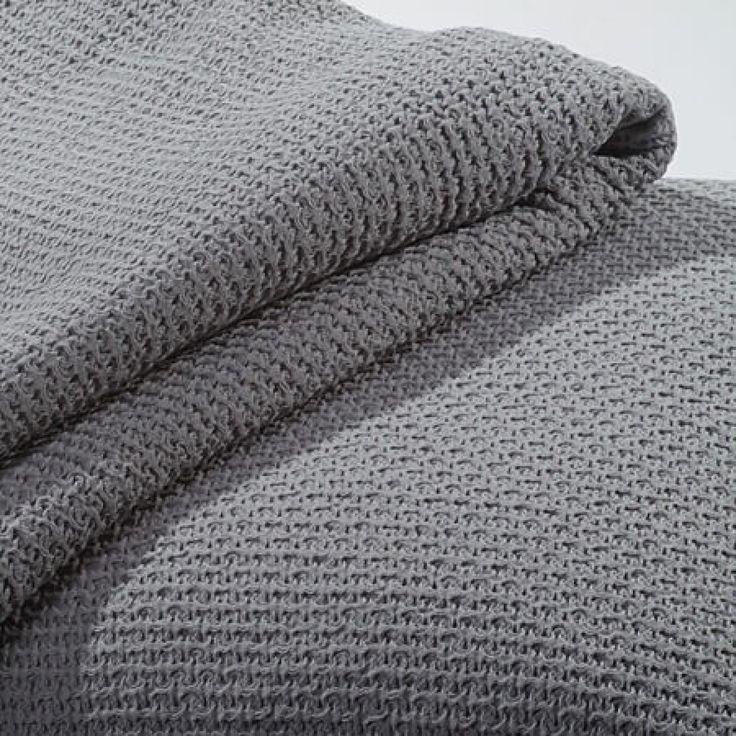 Tagesdecke Como-260 x 300 cm-grau