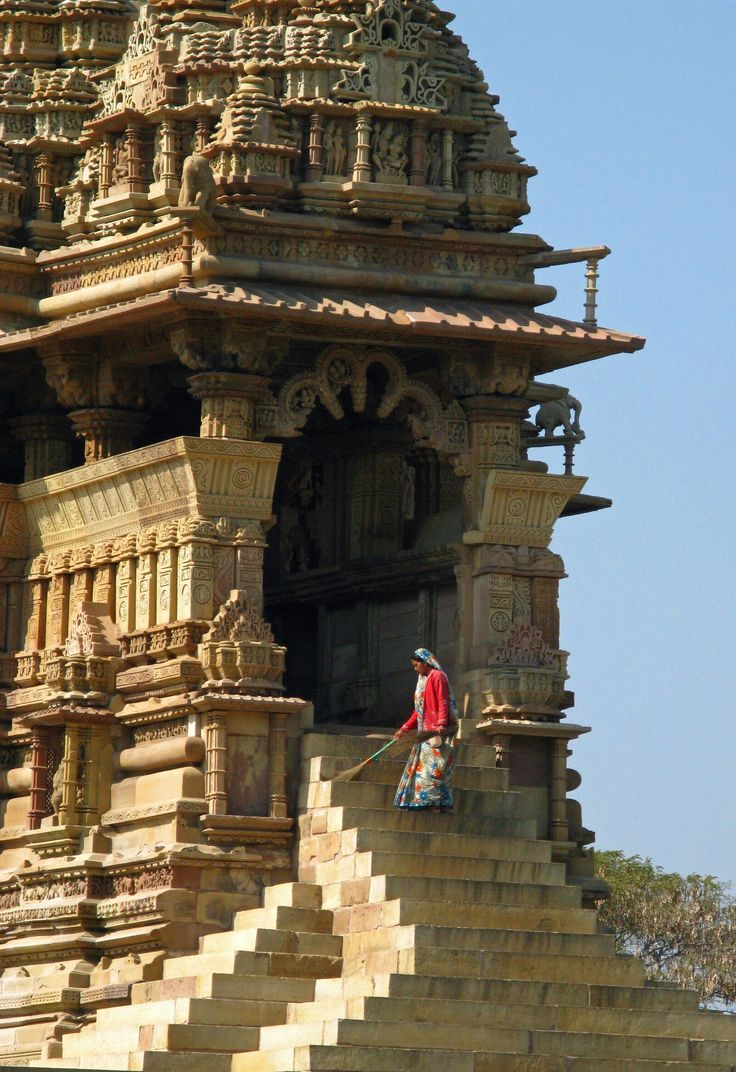 The Temples of Khajuraho,  Madhya, Pradesh, India  Copyright: Eugene Ward