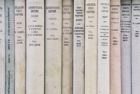 book spines - ph. laura redburn