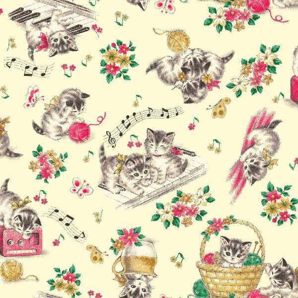 ** Dear Little World - Musical Kitties on Cream-Dear, Little, World, Kitties, Musical